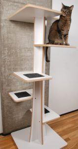 best_cat_trees_for_older_cats_baobab_modern_cat_tree_in_eco_friendly_white_laminate_and_black_mohair_faux