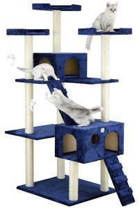 best_cat_trees_for_older_cats_go_pet_club_cat_tree_72_inches