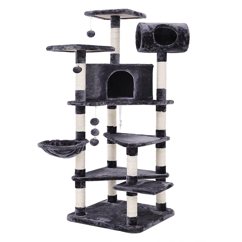cat_climbing_structures_SONGMICS_multi_level_large_cat_tree_cat_furniture_cat_play_house_smoky_grey