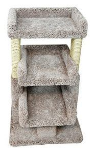 cat_climbing_structures_best_cat_trees_multiple_cats_prestige_cat_trees_beige_solid_wood_large_triple_cat_perch