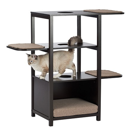 cat_climbing_structures_unique_cat_trees_and_towers_paws_and_purrs_cat_play_tower_with_bed