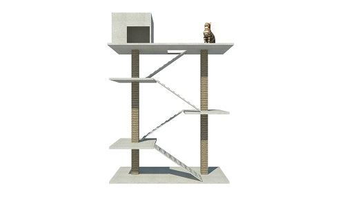 Build A Cat Tree For All Cats DIY Plan