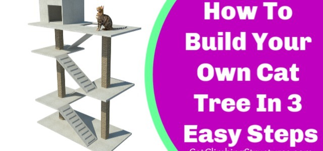 How To Build Your Own Cat Tree In 3 Easy Steps